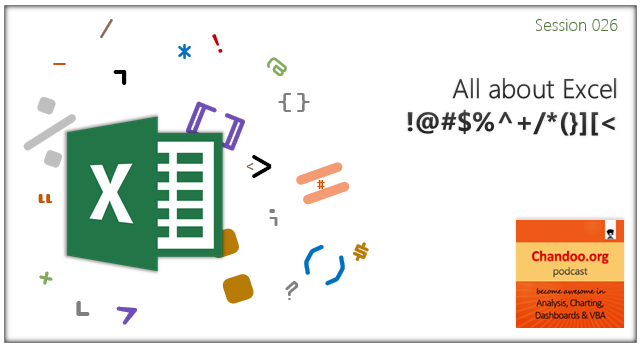 CP026: All about Excel !@#$%^ /*(}][